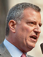 Bill de Blasio. Foto: via Wikipedia